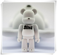 2015 custom bear brick toy, high quality soft pvc plastic toy manufacturer