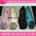 2015 nova flor geléia sandália lisa/2015 mulheres novo estilo de pvc sapato sandália