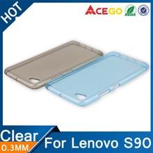 (Acego) 0.3mm 2015 transparent clear for lenovo s90 case cover , tpu case cover for lenovo s90