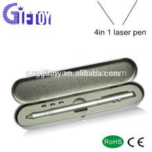 led light ballpoint pen laser pen uv money detector pen