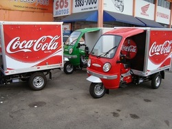 cargo tricycle with closed cabin for sale