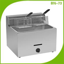 High quality Stainless steel Vertical Gas Broaster Chicken Fryer/ deep fryer BN-73