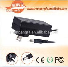 CE/ ROHS/FCC 12V 3A plug adapter