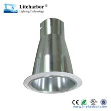 Wholesale 4 inch vertical chrome color par20 aluminum reflector for housing