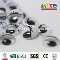 various googly animal eyes plastic craft eyes