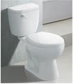 La chine à deux pièce toilettes wc htt-17a pour l'amérique du sud