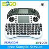 hot selling 2.4ghz mini wireless keyboard for smart tv
