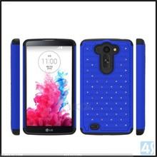 Plastic hard case for LG G Vista, PC Silicone combo hard case for LG G Vista D631