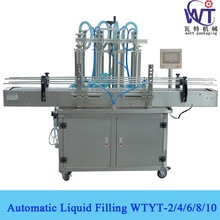 Computor Controlled Piston Pump Automatic Liquid Filling Machine