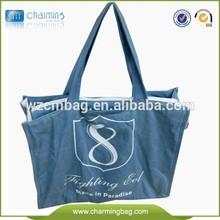 Cotton Printed Shopping Bag Handmade Quilt Fabric Cotton Bag