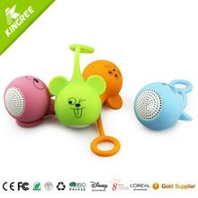 2015 cartoon mobile manual portable mini speaker