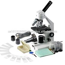 M500C-P-PB10 40X-2500X Advanced Compound Microscope with USB Digital Camera & 10pc Slide Kit