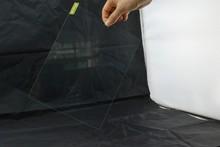Wholesale Japan material anti-shock tempered screen protector for iPad Air/Air2/Mini/3&4