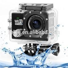 "2015 New Version WIFI Action Camera 12MP Full HD digital camera 1080P 30FPS 2.0""LCD Diving 30M Waterproof sport DV"