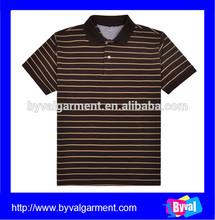 Wholesale top quality polo shirt stripe, summer short sleeve polo shirt for men, Oem casual polo shirts men