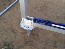 Galvanized Solar Installations Steel Posts