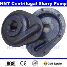 Natural rubber cover plate liner for AHR pump