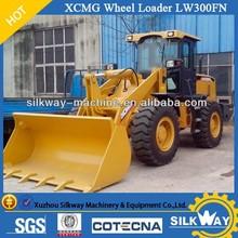 XCMG brand small wheel loader 3ton wheel loader LW300FN