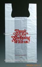 t-shirt thank you plastic bags