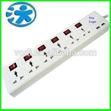 Innovative designed multiple socket outlet with usb ports, electric multiple socket outlet