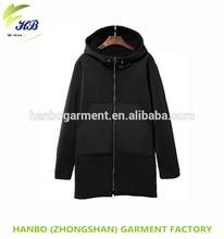 personalized ladies sports jackets fleece waterproof long hoody high quality winter polyester long coats