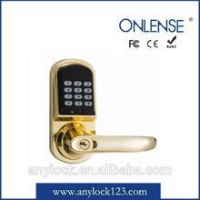 Onlense rf card security hotel lock for america market