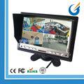 coche de seguridad 7 pulgadas digital de alta definición de pantalla quard monitor de cámara de marcha atrás