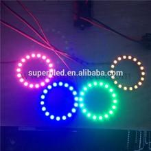 Super bright blue red led ring light 12V 5050 flashing led light