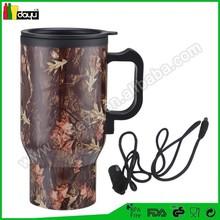 Auto Heated Travel Coffee Tea Mug Cup 12V & pens and mug screen printing machines