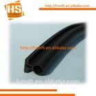 Soft foam rubber glass shower door seal strip