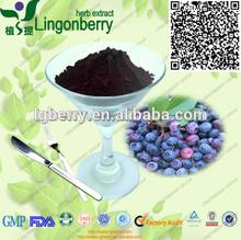 Blueberry extract natural Pterostilbene 20% anti-cancer,Antioxidant pterostilbene