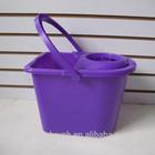 plastic mop bucket, small mop bucket with wringer,mop bucket