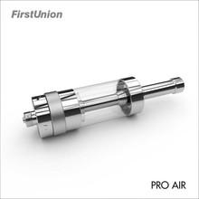 2015 cheap vaporizers Pro air pyrex glass tube rebuildable tank atomizer