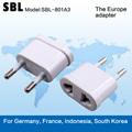 Coreia do sul padrão de conversão plug, a bitola adaptador, conversão universal socket,