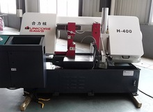 Semi-automatic Horizontal Bandsaw Machine H-400 for Metal Cut