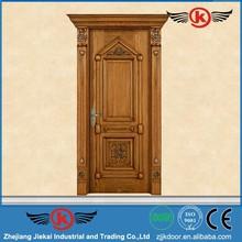 JieKai M254 wooden door frames designs / italian design wooden doors / solid wood arch door