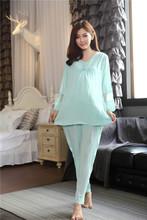 NO 1 Quality Western Style Maternity Homewear Nursing Nightwear Maternity Pajamas in Women Pajamas Supply 155094