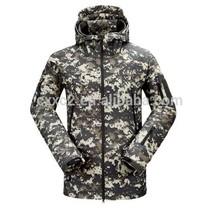 camo chaqueta al aire libre del brazo a prueba de agua a prueba de viento chaqueta chaqueta de táctica