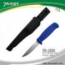 New Fresh Water Bait Knives Saw Blade Fish Fillet Knives China With Sheath