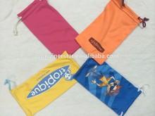 professional microfiber mini fabric drawstring jewelry pouch pattern