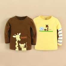 mom and bab 2015 baby clothes 100% cotton baby t-shirts wholesale