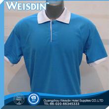 tie dyed Guangzhou polyester/cotton mens white polka dot shirt