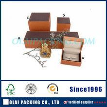 Hot-sale Costomized Luxury Plastic Jewelry Box Gift