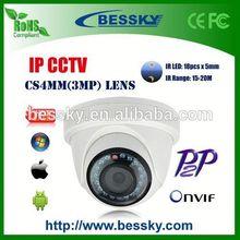 Plastic 1.3MP zte mf58 3g dome camera(Bessky factory)