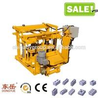 QT40-3A low investment maquina de tijolo de concreto