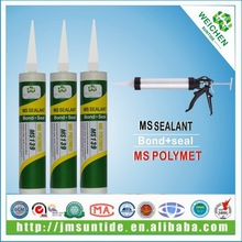 New arrival one component MS adhesive silicone glazing sealant