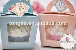 General Design Beautiful cake paper packaging boxes cupcake
