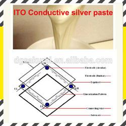 screen printing Conductive silver ink for ITO& PET substrates