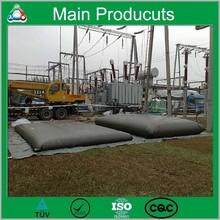 1.0mm 1.2mm Durable Timeproof UV Resistant Soft Potable Flexible Folding Water Storage Tank 20000 Liter