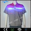 venta al por mayor de moda de calidad del deporte camiseta con flash led